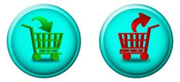 Agregue a los botones del carro libre illustration