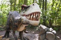Agressieve dinosaurus Stock Afbeelding