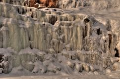 Agrest Spada stanu park na Minnestoa ` s Północnym brzeg Jeziorny przełożony w lecie Zdjęcie Royalty Free