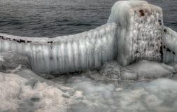 Agrest Spada stanu park na Minnestoa ` s Północnym brzeg Jeziorny przełożony w lecie Obrazy Stock