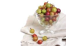 Agrestowa owoc w pucharze Zdjęcie Royalty Free