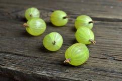 Agrestowe owoc na biurku Zdjęcie Royalty Free