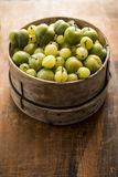 Agresty i Greengages Zdjęcie Royalty Free