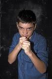 agresywna chłopcze Fotografia Stock