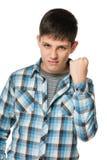 agresywna chłopiec Zdjęcia Royalty Free
