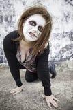 Agresywna kobieta szalona Obrazy Royalty Free