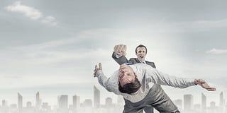 Agresywne biznesowe taktyki Zdjęcie Stock