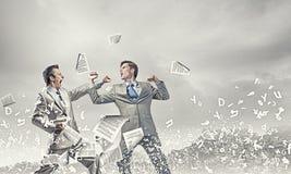 Agresywne biznesowe taktyki Obraz Stock
