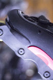 Agresywne inline bezpłatne łyżwy Zdjęcia Stock