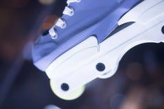 Agresywne inline bezpłatne łyżwy Obraz Royalty Free