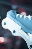 Agresywne inline bezpłatne łyżwy Obraz Stock