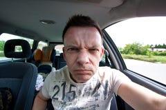 agresywni kierowcy Zdjęcie Stock