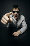 Agresywny biznes Obraz Stock