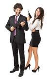 Agresywny biznes Zdjęcia Stock