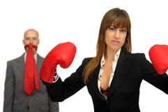 agresywny biznes Zdjęcie Royalty Free