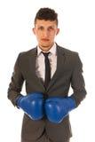 Agresywny biznesmen Fotografia Stock