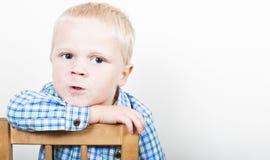 Agresywny dziecko Zdjęcia Royalty Free