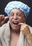 Agresywny Flossing Zdjęcie Stock