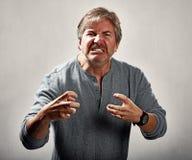 agresywny ludzi Fotografia Stock