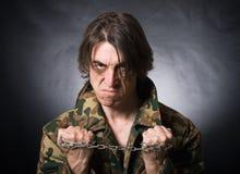 agresywny mężczyzna Zdjęcia Stock