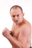 agresywny mężczyzna Obraz Stock