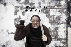 Agresywny morderczy złodziej Fotografia Royalty Free