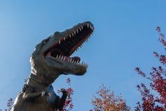 agresywny rex t Zdjęcia Stock