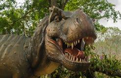 Agresywny T Rex Zdjęcie Stock