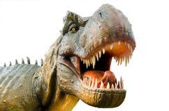 Agresywny T Rex na białym tle Zdjęcie Royalty Free