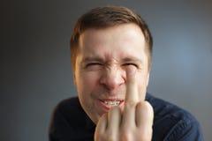 Agresywny zachowanie należny zła wiadomość Zdjęcie Stock