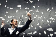Agresywny zarządzanie Zdjęcia Stock