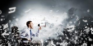 Agresywny zarządzanie Obraz Stock