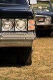 agresywnych samochodów klasyczny target791_0_ Obraz Stock