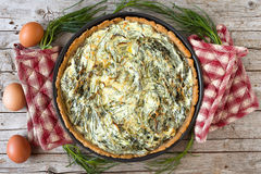 Agretti Pie Stock Image