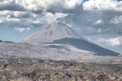Agri,土耳其- 2013年9月29日:一点亚拉拉特山(Kucuk Agri) 免版税图库摄影