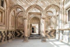 Agri,土耳其- 2013年9月29日:从Ishak巴夏宫殿(Ä°shak帕沙Sarayi)的内部场面 库存图片