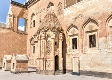 Agri,土耳其- 2013年9月29日:从Ishak巴夏宫殿ishak帕沙Sarayi的内部场面 库存图片