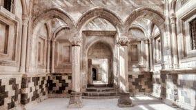Agri Turcja, Wrzesień, - 29, 2013: Wewnętrzna scena od Ishak Pasha pałac (Ä°shak Pas Sarayi) Obrazy Stock