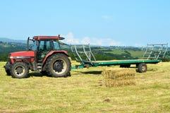 Agricol трактора Стоковые Изображения RF