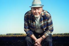 Agricoltore anziano Fotografia Stock Libera da Diritti