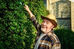 Agricoltore anziano Immagini Stock Libere da Diritti