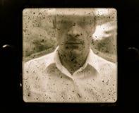 Agricoltore d'annata anziano Portrait Immagine Stock
