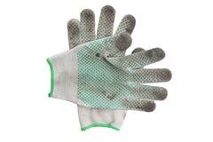Agricoltore dei guanti del lavoro Fotografia Stock