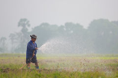 Agricoltore della Tailandia Fotografie Stock