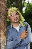 Agricoltore di gomma Immagini Stock Libere da Diritti