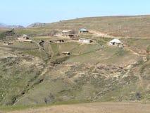 Agricoltore di tagico della proprietà terriera Fotografia Stock Libera da Diritti