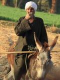 Agricoltore egiziano Fotografia Stock Libera da Diritti