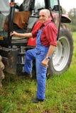 Agricoltore fiero Fotografia Stock Libera da Diritti
