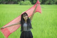 Agricoltore Girl Fotografia Stock Libera da Diritti