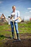 Agricoltore grazioso Fotografia Stock Libera da Diritti